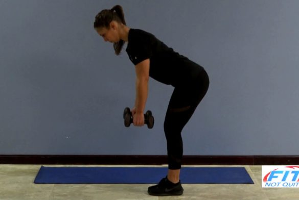 Bent Over Double Dumbell Row