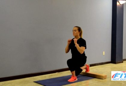 Rear Foot Elevated Lunge